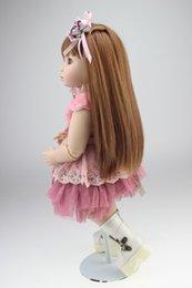 Muñecas del bjd en Línea-Real BJD chica muñecas 1 de 8 pulgadas de vinilo completa realista Terminado muñeca hecha a mano de la princesa de la muñeca de colección de la muñeca renacida