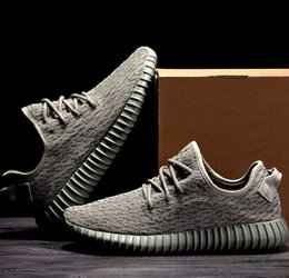 Wholesale Top Quality Menswear Boost Sports Running Shoes Boost Kanye West Shoes Send With Double Box Sportwear USA UK