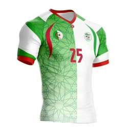Wholesale News Algeria Soccer Riyad Mahrez Jerseys SHIRTS Survetement Football Jerseys Shirts