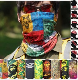 2016 Hot sell New Bandanas Multifunctional Outdoor Cycling Scarf Magic Turban Sunscreen Hair band free Shipping 1-22 Color free choose
