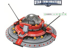 Wholesale 2016 new Children s educational building blocks assembled baby educational toys interplanetary speed shuttle