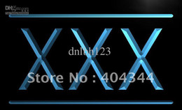 Wholesale LB791 TM XXX Adult Rated Movie DVD Film Neon Light Sign Advertising led panel
