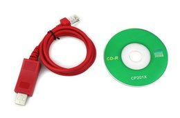 Wholesale Original Wouxun KG UV950P USB program cable KGUV950P software CD Computer programming interface support win8