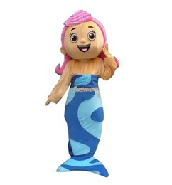 Wholesale Bubble Guppies Character Molly Cartoon Mascot Costume Animal Fancy Dress Outfit