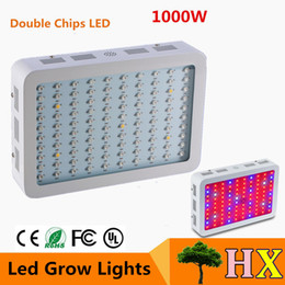Wholesale 1pcs Full Spectrum W LED Grow Light AC85 V Double Chip Led Plant Lamps Best Indoor Grow Tent For Growing and Flowering