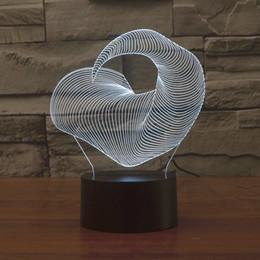 2017 claw monster 3D Optical Lamp Night Light 9 LEDs Night Light DC 5V Colorful 3D Lamp
