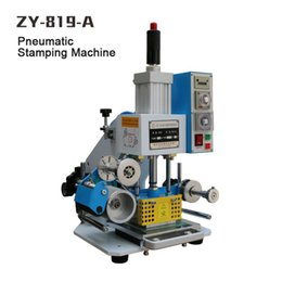 ZY-819-A Pneumatic Stamping Machine,leather LOGO printer,pressure words machine,LOGO stampler,stamping machine