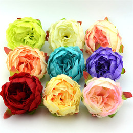 Large peony silk flower canada best selling large peony silk 1pcs 7cm large artificial decorative peony heads simulation diy silk flower head for wedding home party cheap fake flowers mightylinksfo