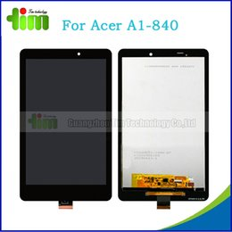 Wholesale For Acer Iconia Tab A1 Original LCD display touch screen with digitizer assembly Black Tim03