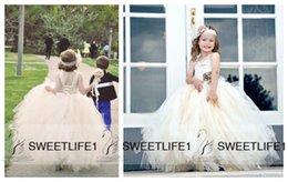 Wholesale Sweetheart Neckline Flower Girl Dresses - Lace Girls' Pageant Dresses 2016 Floor Length Handmade Flower Custom Made Sweetheart Neckline Sleeveless Flower Girls' Dresses Corset Back