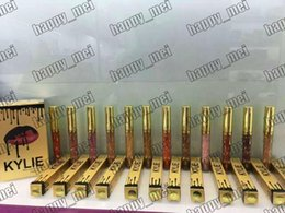 Wholesale Factory Direct New Makeup Lips Kylie Lip Birthday Edition Kylie Metal Matte Liquid Lipstick Different Colors