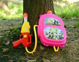 Wholesale Kids water guns Outdoor playing toys beach toys Water bag High pressure Far shooting range water guns