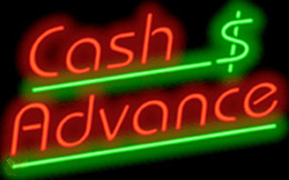Wholesale Cash Advance Neon Sign Custom Handcrafted Real Glass Neon Lamp Light Sign Bank Commercial Pay Money Sign Motel Advertising Display quot x12 quot