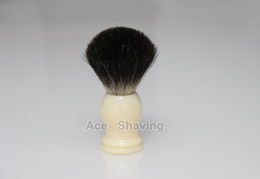 Black Badger Hair Shaving Beard Brush Resin Handle Knot Size 22mm