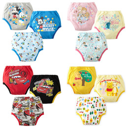 Wholesale PrettyBaby Baby boy girl newborn nappy infant toilet pee potty training pants cloth diapers Washable Cloth diaper Underwear Reusable