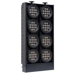 Free shipping High power 96x3W 8 Eyes RGBW LED Blinder Light RGBW LED Audience Light for Stage