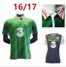 Wholesale new Republic of Ireland national football team Jersey Ireland home Soccer Jersey EURO CUP Irish football shirts