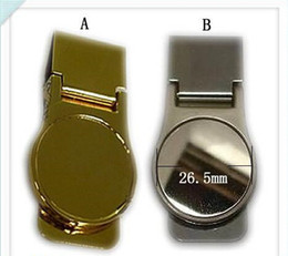 Wholesale- 5pcs lot men's money clips designer money clip perfect for personalized gift free shipping