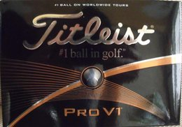 Wholesale New dhl golf PRO v1x golf balls club clubs one dozen one box golf balls