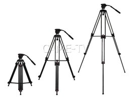 Protable Tripod With Fluid Head Max load 12kg 65mm Bowl Quick Release Plate