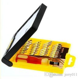 32 in 1 set Micro Pocket Precision Screwdriver Kit Magnetic Screwdriver cell phone tool repair box 83653