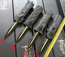 Wholesale 2016 New Black hawk butterfly knives infidel bA10 knife c Stainless steel camping knife