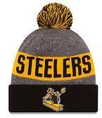 Wholesale New Beanies Heather Gray Sideline Sport Knit Hat Football Pom Knit Hats Sports Cap Team Hats Steel Mix Order All Top Quality Hat