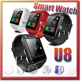 Bluetooth Smartwatch U8 U Watch Wrist Watches for iPhone 4 4S 5 5S Samsung HTC Android Phone Smartphone