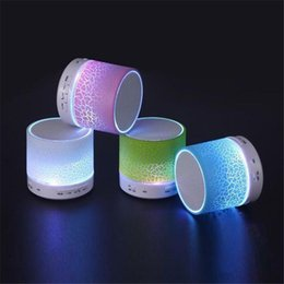 Wholesale Stripe Burst Bluetooth Speakers Mini MP3 Surround Speakers With The Properties Of The Wireless Link For MP3 Player A9