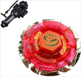 Wholesale Metal Fight BB Booster Dark Cancer CH120SF Gyroscope Toy BeyBlade spare parts Launchers year old boy tops