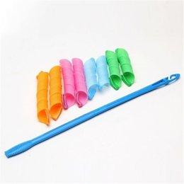 By DHL DIY MAGIC LEVERAG Magic Hair Curler Roller Magic Circle Hair Styling Rollers Curlers Leverag perm