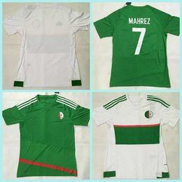 Wholesale Maillot de Foot Algeria Riyad Mahrez Soccer Jerseys Algeria Football SHIRTS Survetement Football