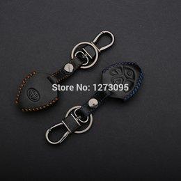 Wholesale Hand Stitched Sewing Leather Remote Key Cover Case for Toyota Camry Avalon Corolla Matrix Scion XA XB XD Rav4 Venza Yaris Reiz