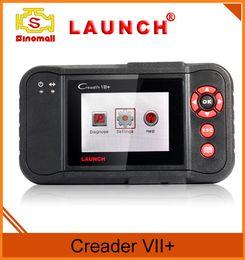 Wholesale Original Launch Tech Creader VII OBD II code Reader Scan tool auto diagnostics Suitable for OBDII standard after