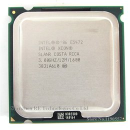 Wholesale LGA775 Intel Xeon E5472 GHz M Mhz cpu Processor works on LGA775 mainboard no need adapter