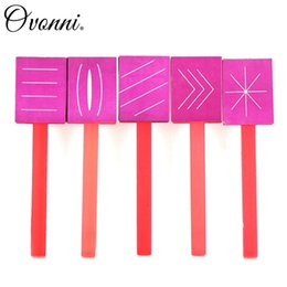 Wholesale Nail Art Magnet Tip Patterns Rod For Magic Magnetic Polish with Line Cat eyes Arrow Slash Snowflake Pattern