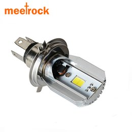 2016 New H4 LED Hi Lo Beam in Car Light Source 8W 1050LM 12V 6000K Motorcycle Headlight Bulbs Moped Scooter Motorbike Headlamp
