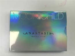 Wholesale Ana ABH Brand new Moonchild Glow Kit Highlighters Face Moon child Blush Powder Blusher Palette by dhl