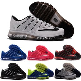 Wholesale 2016 Cheap Running Shoes Air Cushion Men Women Original New Product Hot Sale Breathable Outdoor Sneaker Eur