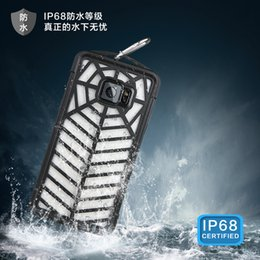 Wholesale High Quality Note Waterproof Case New Design Spider Web Case Cobweb Case spider case IP68 Waterproof With Clip
