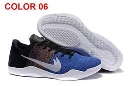 [Avec la boîte d'origine] Kobe Bryant XI Elite Bas Basket-ball Hommes 2016 Retro KB 11 Bottes Haute Qualité Sneakers Cheap chaussures de sport pour les garçons à partir de chaussures de sport pas cher fabricateur