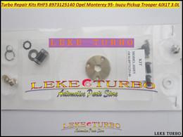 Turbo Repair Kits Rebuild kit RHF5 8973125140 Turbocharger For Opel Monterey 95-99 For ISUZU Pickup Trooper 98- 4JX1T 3.0L 157HP