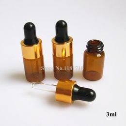 Wholesale ml Glass Dropper Bottle Amber Glass Bottle with Latex Enssential Oil Bottle Storing Dispay Sample Bottles