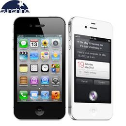 "Used iPhone4s Original Unlocked Apple iPhone 4S Mobile Phone 3.5"" IPS Smartphone 512MB RAM 16GB ROM Used Phone 3G GPS iOS Cell Phones"