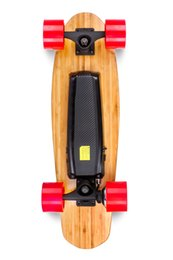 Wholesale Bamboo Complete Electric Scooters Wireless Controller Electric Skateboard Remote Control Wheels Motor Drive