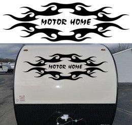 Wholesale 1x Tribal design mm x mm Travel Trailer Camper Van Graphics Motor Home Vinyl Graphics Kit Decals Car Stickers