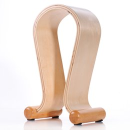New Wooden Omega Headphone Display Stand Stands Headphones Holder Headset Hanger for Brand headset headsets mate Free Ship