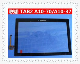 Wholesale Lenovo Tab A10 F A10 LC A10 touch LCD screen assemble Lenovo tablet computer touch screen LCD