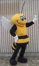 Wholesale OISK Mr Health Bee mascot costumes performance props apparel halloween birthday Fancy dress