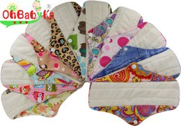 Wholesale Inch Reusable Cloth Sanitary Napkins Menstrual Panty Pads With Premium Bamboo Absorbency Mothers Day Gifts